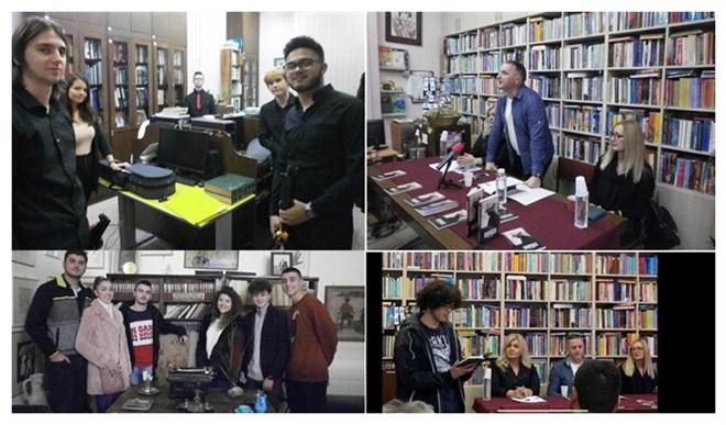 """Promocija knjige Aleksandra Draganovića """"Sentimentalno vaspitanje"""" u Narodnoj biblioteci """"Dušan Matić"""" !!!"""