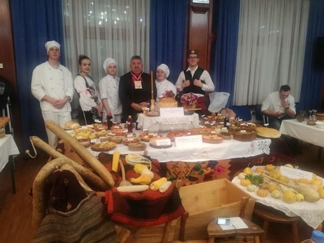 """Tehnička škola iz Despotovca učestvovala na takmičenju """" Srpski sto posne hrane"""" !!!"""