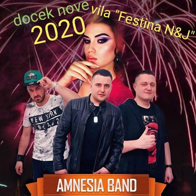 AMNESIA u Villa Festina N&J za docek nove 2020. godine !!!