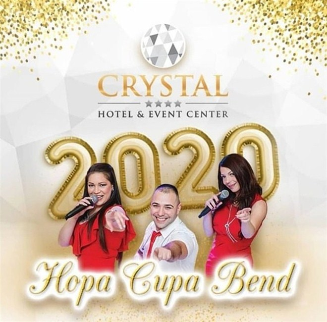 HOPA CUPA BEND i Hotel Crystal Event Center u najludjoj noći !!!