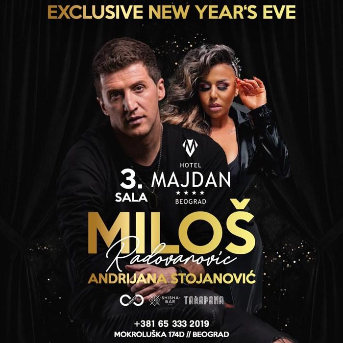 Dočekajte 2020. godinu u hotelu MAJDAN uz Miloša Radovanovića!!!