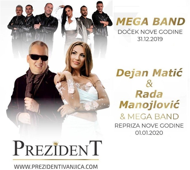 Mega band u Prezidentu !!!