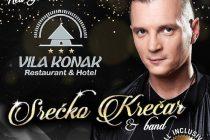 Dočekajte 2020. godinu uz Srećka Krečara u restoran Hotelu VILA KONAK !!!