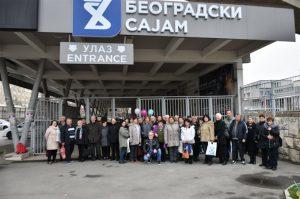 PENZIONERI OPŠTINE DESPOTOVAC posetili sajam turizma !!!