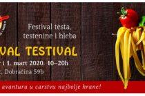 Festival hrane TESTIVAL 2020. za vikend !!!