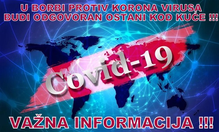 Od ponedeljka će i ćuprijski Zavod za javno zdravlje imati pravo da vrši testiranje na koronavirus !!!