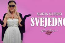 Neće vam biti SVEJEDNO kada čujete novu pesmu Sladje Allegro !!!