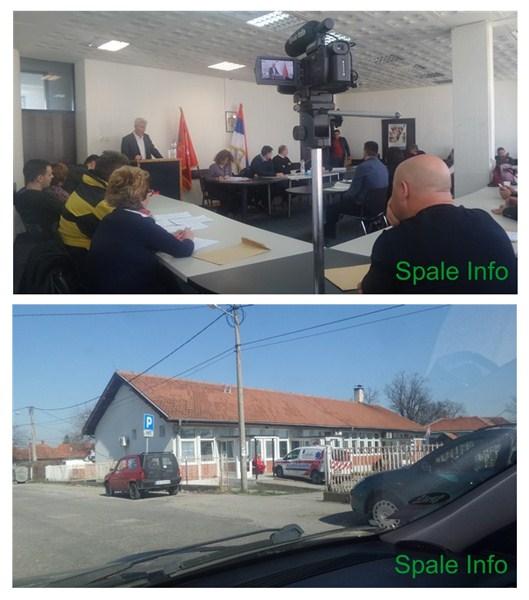 Održana vanredna sednica Skupštine opštine Topola !!!