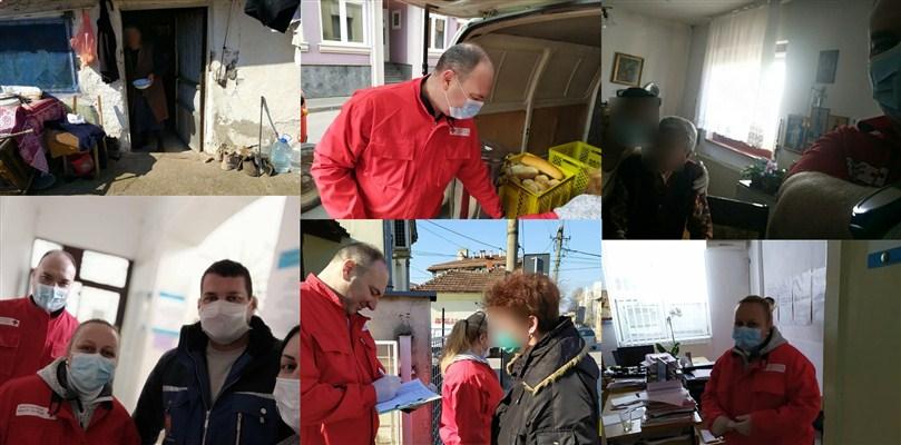 Ćuprijski Crveni krst redovno snabdeva hranom sve starije korisnike narodne kuhinje !!!