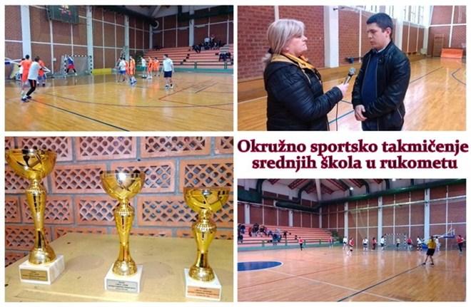U Despotovcu održano Okružno sportsko takmičenje srednjih škola u rukometu !!!