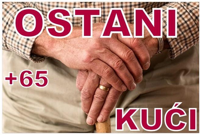 Žena stara 71 godinu iz Lajkovca i dvojica muškaraca starosti 72 i 67 godina iz Valjeva privedeni zbog izlaska van kuće !!!