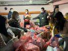 humanitarni paketi u jagodini, koje je obezbedio grad jagodina, stižu do svakoga kome je pomoć potrebna i u gradu i u svakom selu