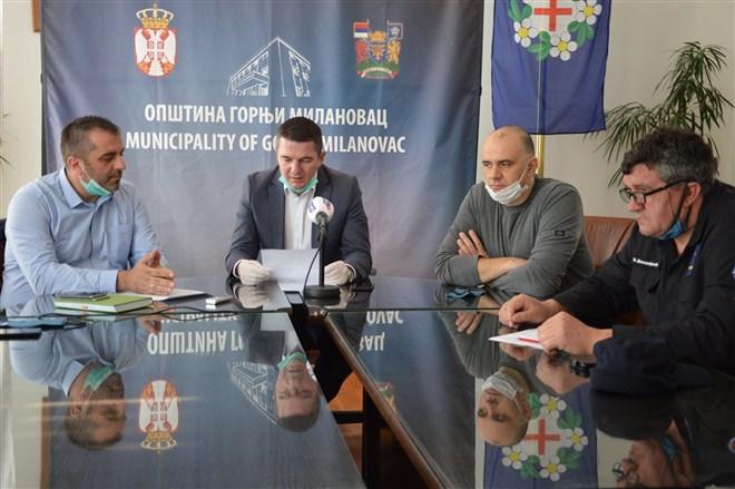 u Gornjem Milanovcu Paketi pomoći za penzionere krajem sledeće nedelje