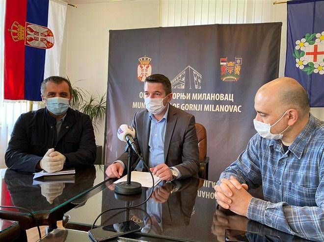 Broj zaraženih u Opštini Gornji Milanovac ima ukupno 18 zaraženih korona virusom