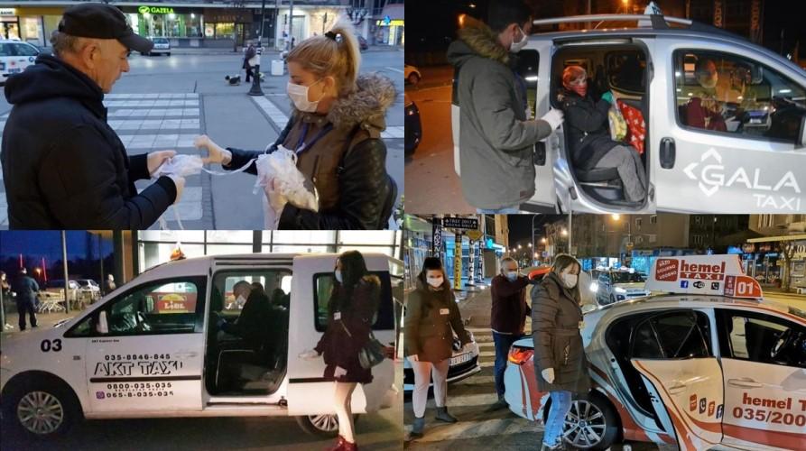 PENZIONERIMA U JAGODINI od grada prevoz od marketa do kuće i zaštitne maske