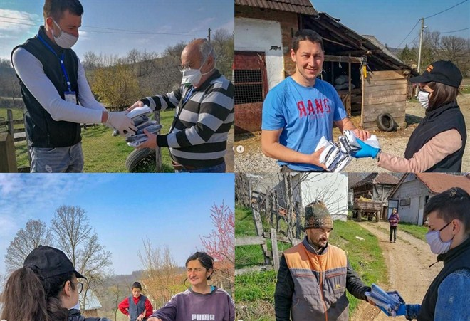 Opština Mionica organizovala podelu besplatnih zaštitnih maski u mioničkim selima !!!