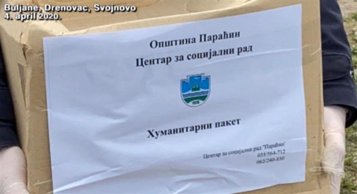 Počela podela novih količina vanredne pomoći u opštini Paraćin !!!