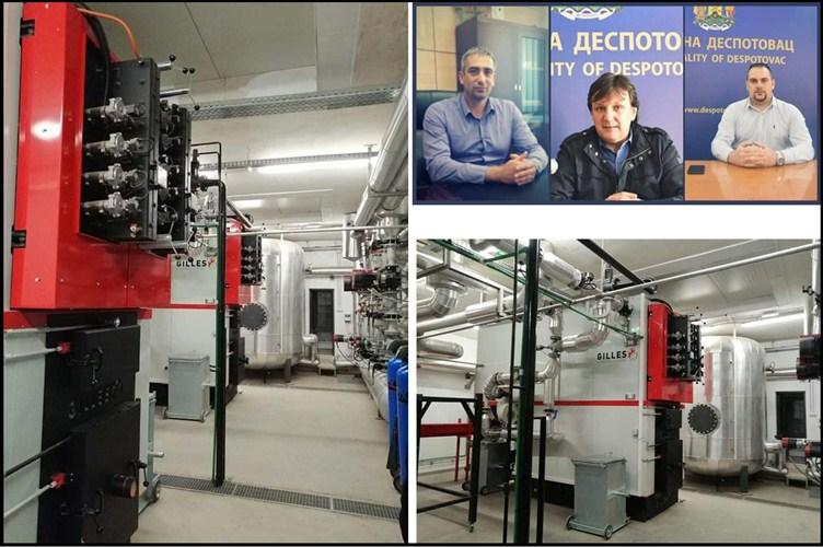 IZGRADNjA kotlarnice u tehničkoj školi u Despotovcu !!!