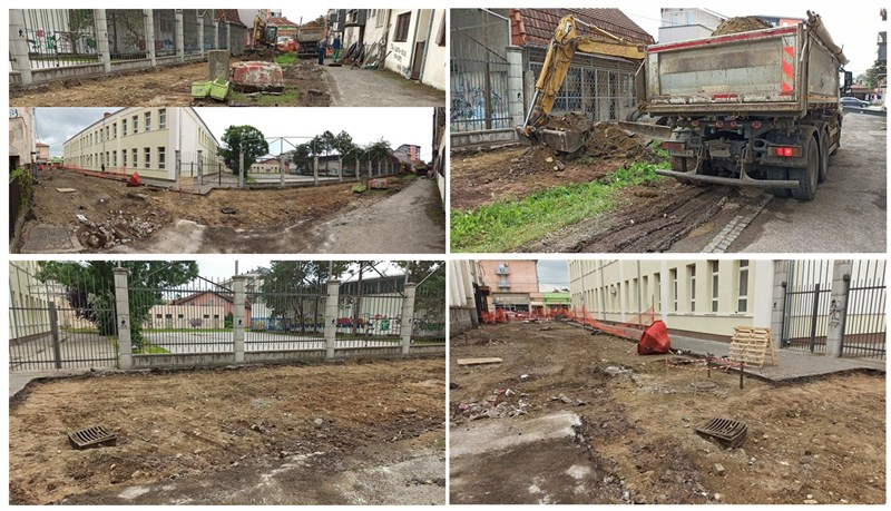 Krenula rekonstrukcija ulice Rada Simonovića u Ćupriji !!!