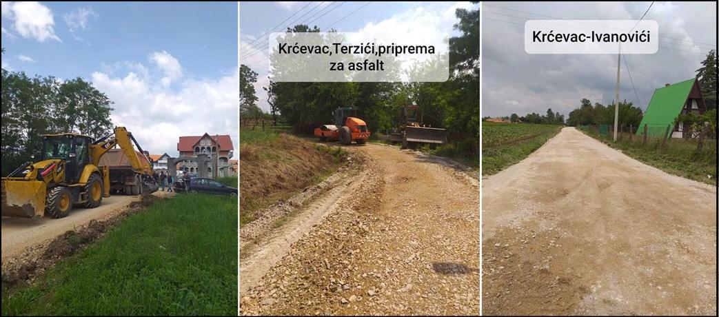 Ni kiša ne sprečava nastavak radova lokalne samouprave u Topoli !!!Ni kiša ne sprečava nastavak radova lokalne samouprave u Topoli !!!