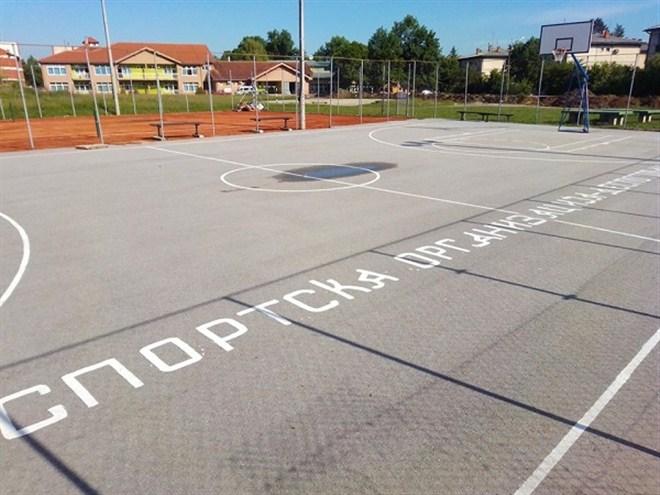 Sportska organizacija Despotovac je završila radove na prolećnom sređivanju sportskog kompleksa u Despotovcu !!!