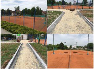Završeno ovogodišnje sređivanje teniskih terena Slavija !!!
