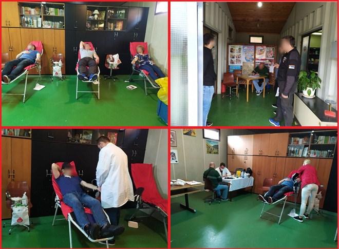 U Ćupriji sprovedena akcija dobrovoljnog davanja krvi !!!