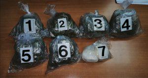 U automobilu Z.V. (1966) iz Kraljeva pronadjeno šest paketa marihuane i dva paketa amfetamina !!!