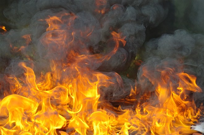 "Lokalizovan požar koji je izbio jutros u fabrici ""Koteks viscofan"" u Novom Sadu !!!"