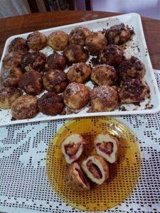 RECEPT DANA-Sladjine knedle sa šljivama i kokosom !!!