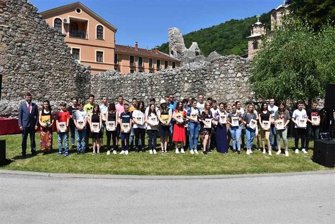 Nosioci Vukove diplome primili priznanja na svečanosti održanoj povodom Vidovdana, pored manastira Ravanica!!!