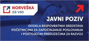 Kraljevina Norveška pomaže preduzetnicima i malim preduzećima u Srbiji sa više od pola miliona evra !!!