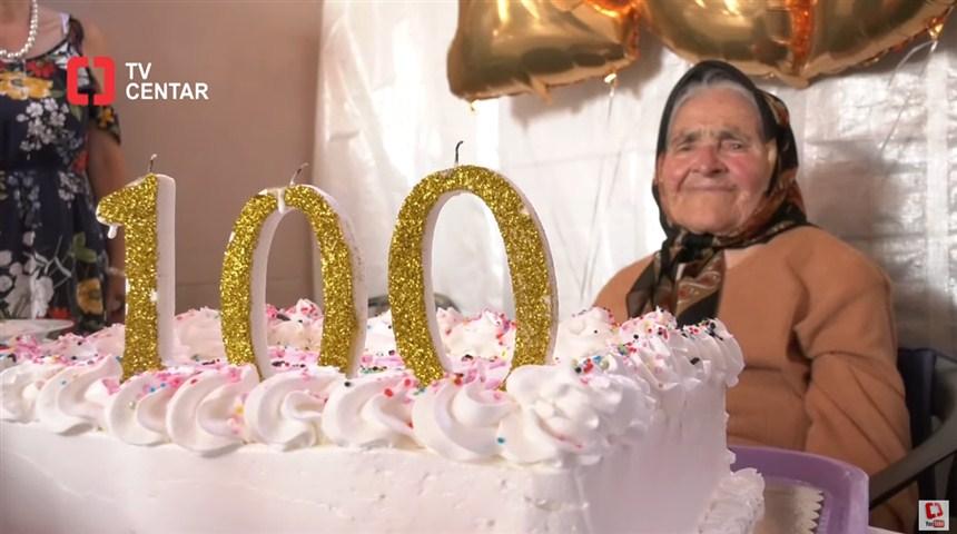 Baba RADA iz Svilajnca, proslavila je svoj stoti rođendan !!!