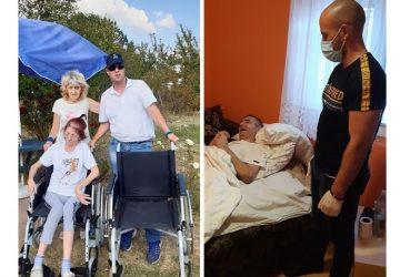 Porodica Čolić iz Ljubesela kod Topole dobila kolica i lekove !!!
