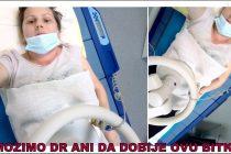 BORBA ZA ŽIVOT DR ANE SE NASTAVLJA-Dr Ana Jaćimović iz Krežbinca otišla u Tursku na lečenje !!!