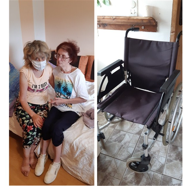 """Kažu """"svakome je svoja muka najveća"""" ali za Ljilju Čolić iz Ljubesela kod Topole muka je prevelika.Ljilja je majka dve odrasle osobe Jelene(45) i Aleksandra(47) koji boluju od teških bolesti."""