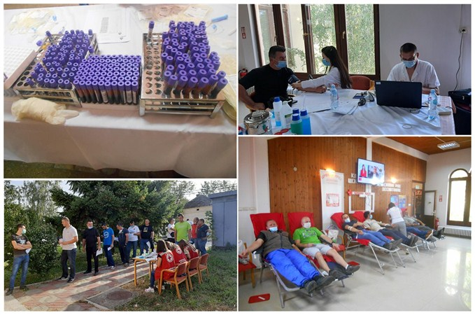 Crveni krst Despotovac u septembru 2020. godine organizovao dve akcije Dobrovoljnog davanja krvi !!!