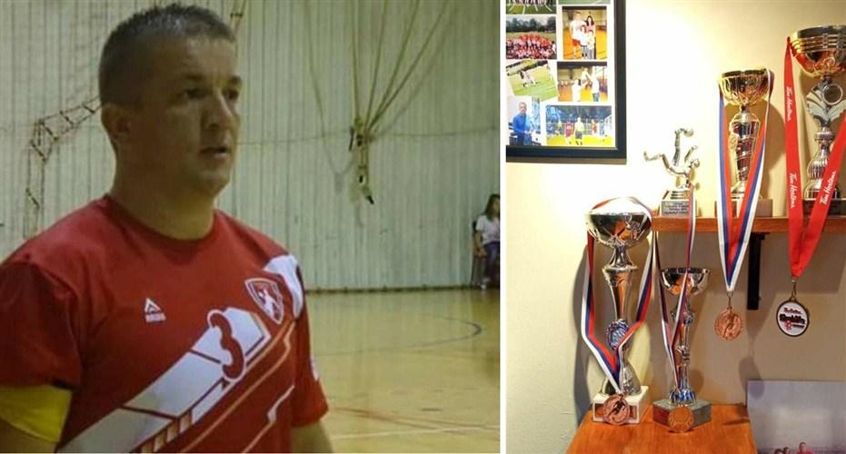 Rukometaš RK Karadjordje iz Topole Ivica Karić dvadeset dve godine se aktivno bavi sportom !!!