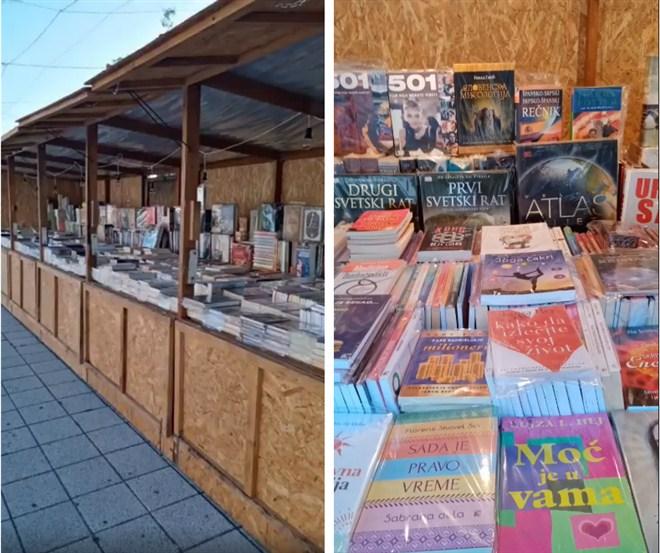 U centru Ćuprije u toku je prodajna izložba knjiga !!!
