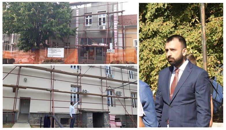 Rekonstrukcija zgrade opštine u Topoli !!!