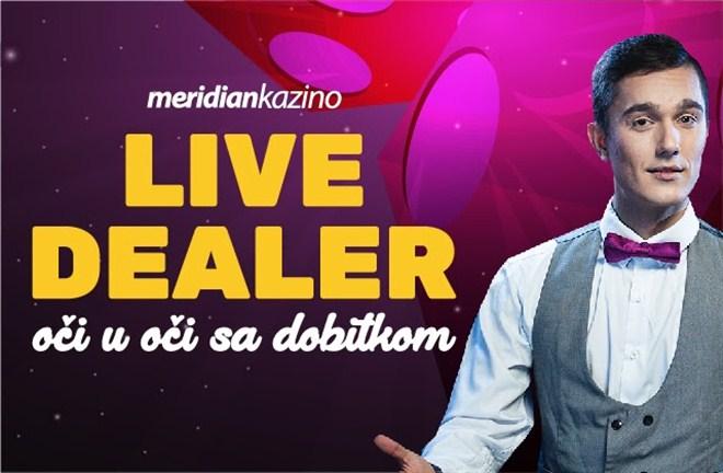 Isprobaj Live Dealer jer su dobici ozbiljni !!!