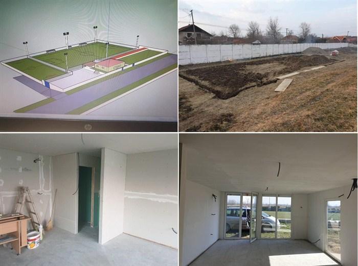 """Fudbalski klub """"Morava"""" iz Ribara uskoro će dobiti novu upravnu zgradu !!!"""