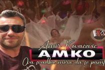 Amir Kovačević Amko rešio da svoju publiku obraduje novom pesmom !!!