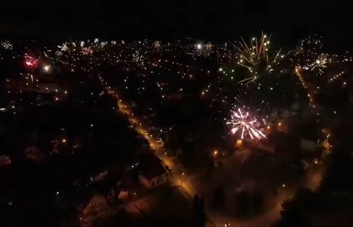 Nebo nad Ćuprijom je 29. maja 2021.godine tačno u 21 čas bilo obasjano prelepim vatrometom koji se mogao videti sa svih strana ovog grada na Moravi.