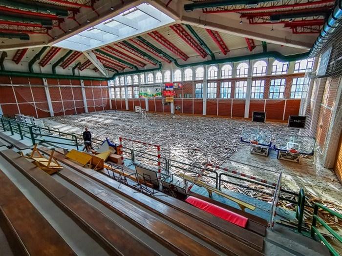 Rekonstrukcija Hale sportova u Despotovcu nalazi se u drugoj fazi projekta !!!